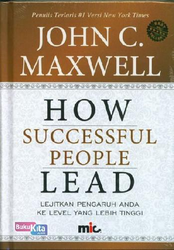 Cover Buku How Successful People Lead