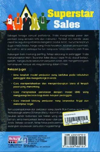 Cover Belakang Buku Superstar Sales