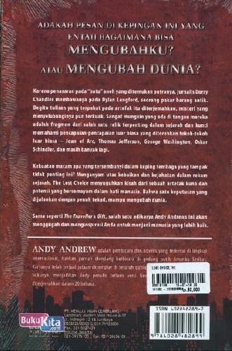Cover Belakang Buku The Lost Choice