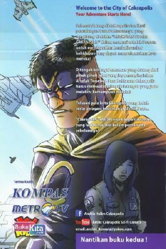 Cover Belakang Buku Cakrapolis