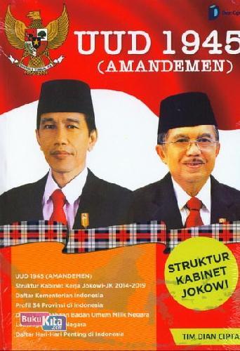 Cover Buku UUD 1945 ( Amandemen ) Struktur Kabinet Jokowi