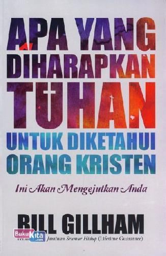 Cover Buku Apa yang Diharapkan Tuhan untuk Diketahui Orang Kristen