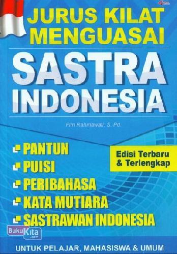 Cover Buku Jurus Kilat Menguasai Sastra Indonesia
