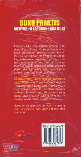 Cover Belakang Buku Buku Praktis Menyusun Laporan Laba Rugi