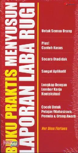 Cover Buku Buku Praktis Menyusun Laporan Laba Rugi