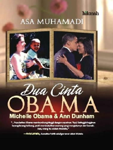 Cover Buku Dua Cinta Obama