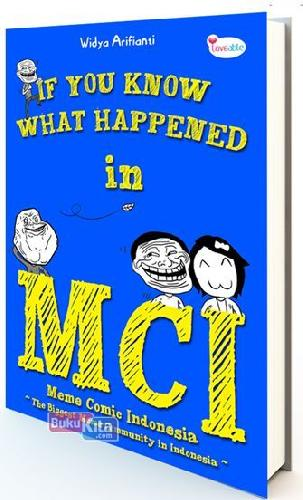 Cover Buku If You Know What Happened In MCI