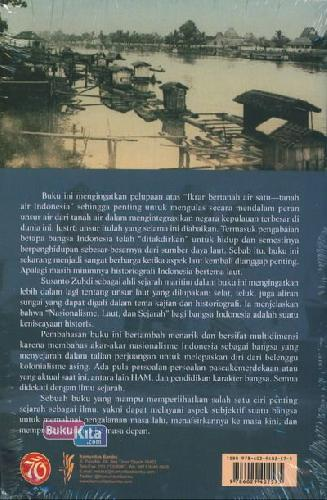 Cover Belakang Buku Nasionalisme, Laut dan Sejarah