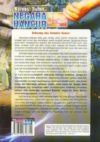 Cover Belakang Buku Korupsi Subur, Negara Hancur
