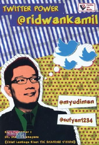 Cover Buku Twitter Power @Ridwankamil