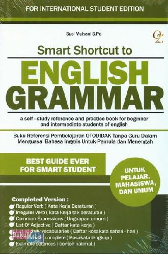 Cover Buku Smart Shortcut to English Grammar