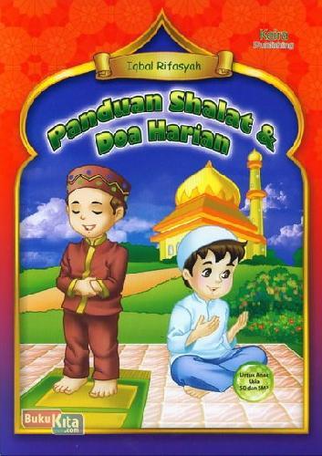 Cover Buku Panduan Shalat & Doa Harian