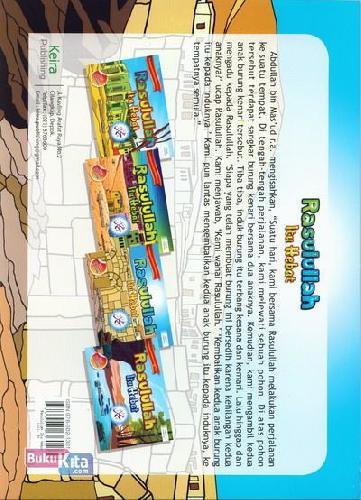 Cover Belakang Buku Seri Mukjizat & Kehebatan Rasulullah 3 : Rasulullah Itu Hebat Untuk SD/MI & SMP/MTS