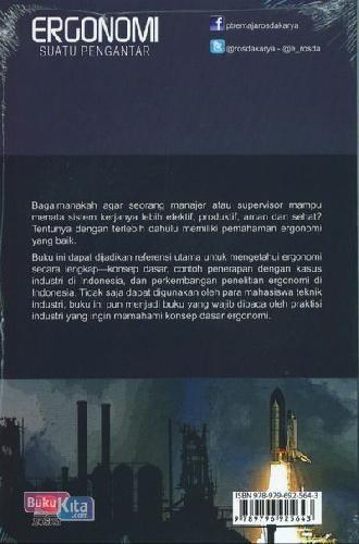 Cover Belakang Buku Ergonomi Suatu Pengantar
