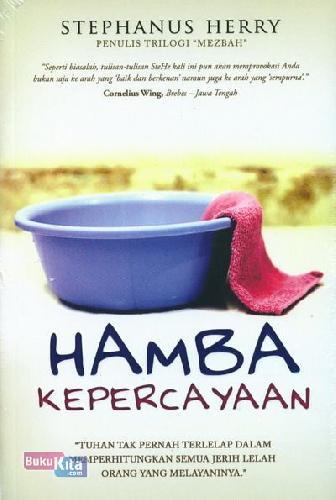Cover Buku Hamba Kepercayaan