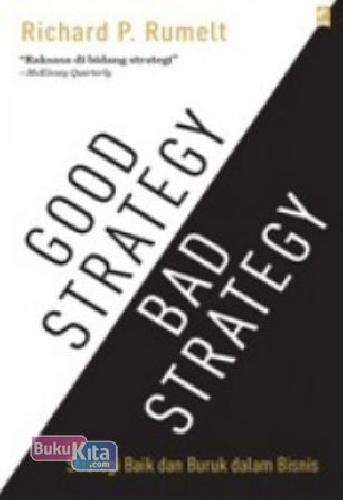 Cover Buku Good Strategy Bad Strategy
