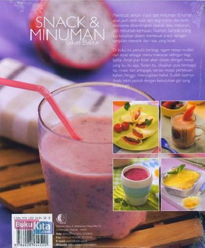 Cover Snack & Minuman Sehat Balita Food Lovers