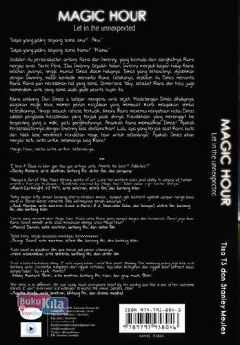 Cover Belakang Buku Magic Hour: Let In The Unnexpected