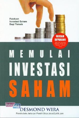 Cover Buku Memulai Investasi Saham