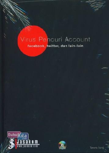 Cover Buku Virus Pencuri Account