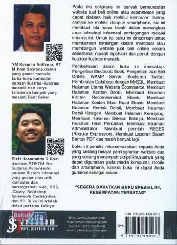 Cover Belakang Buku Project Php 15 Juta