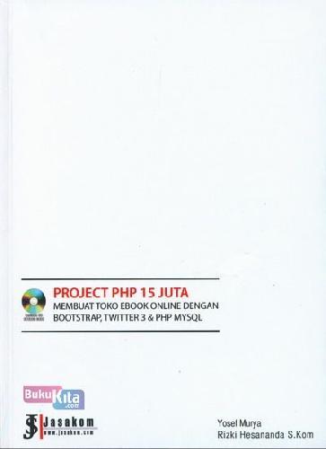 Cover Buku Project Php 15 Juta