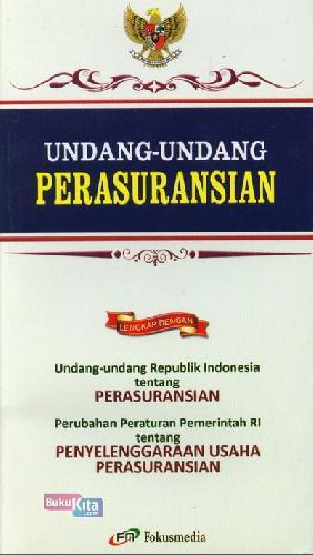 Cover Buku Undang-Undang Perasuransian