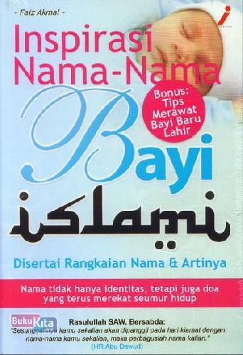 Cover Buku Inspirasi Nama2 Bayi Islami