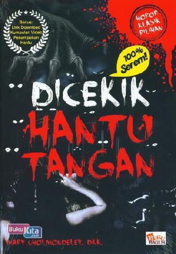 Cover Buku DICEKIK HANTU TANGAN