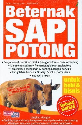 Cover Buku Beternak Sapi Potong