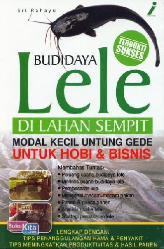 Cover Buku Budidaya Lele Di Lahan Sempit
