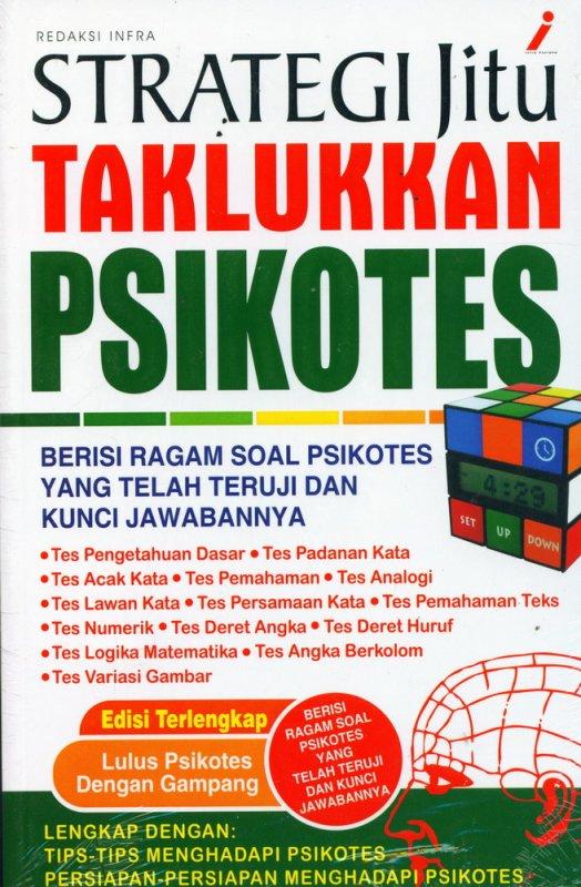 Cover Buku Strategi Jitu Taklukkan Psikotes