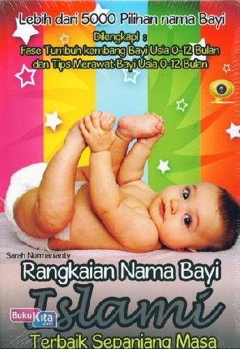 Cover Buku Rangkaian Nama Bayi Islami Terbaik Sepanjang Masa