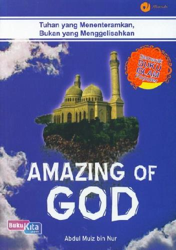 Cover Buku Amazing of God