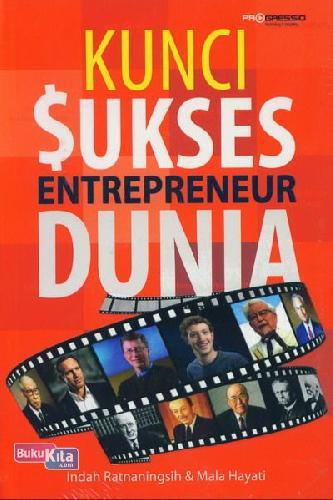 Cover Buku Kunci Sukses Entrepreneur Dunia