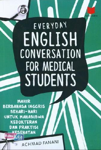 Cover Buku Everyday English Conversation For Medical Students
