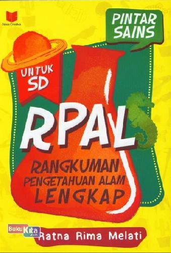 Cover Buku SD Rpal Pintar Sains
