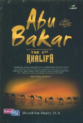 Cover Buku Abu Bakar The 1st Khalifa