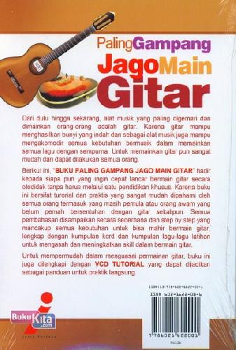 Cover Belakang Buku Paling Gampang Jago Main Gitar