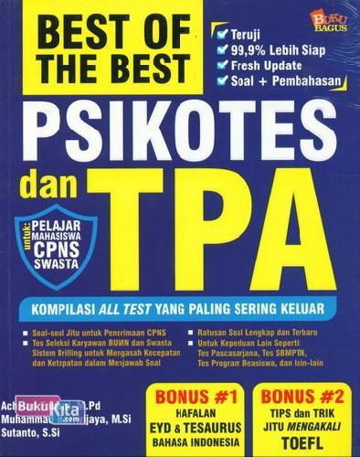 Cover Buku Best of The Best ikotes dan TPA