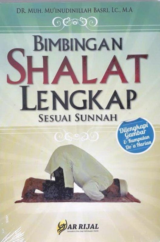 Cover Buku Bimbingan Shalat Lengkap Sesuai Sunnah