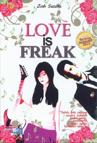 Cover Buku LOVE is FREAK