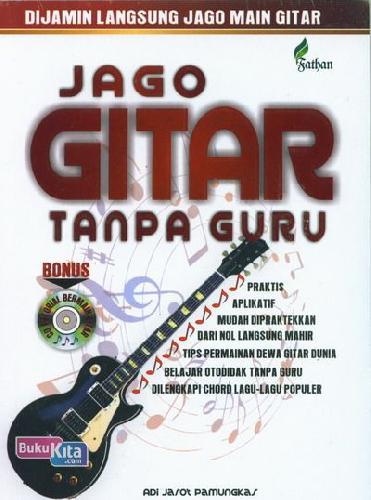 Cover Buku Jago Gitar Tanpa Guru