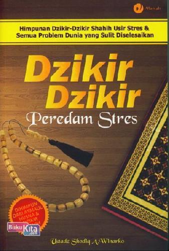 Cover Buku Dzikir-Dzikir Peredam Stres