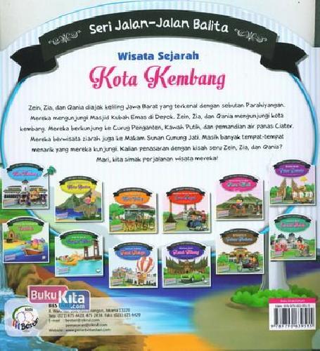 Cover Belakang Buku Seri Jalan-Jalan Balita : Wisata Sejarah Kota Kembang