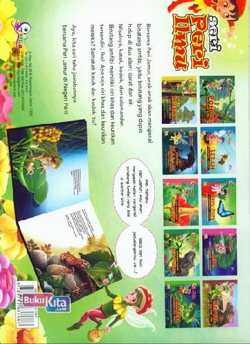 Cover Belakang Buku Peri Jamur : Amfibi Binatang Dua Dunia