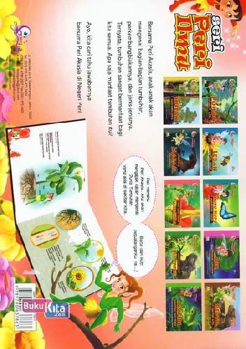 Cover Belakang Buku Peri Akasia : Lebih Dekat dengan Tumbuhan