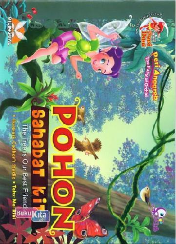 Cover Buku Peri Anggrek Pohon Sahabat Kita : Seri Peri Ilmu