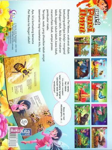 Cover Belakang Buku Peri Mawar : Lebah Pekerja Hebat