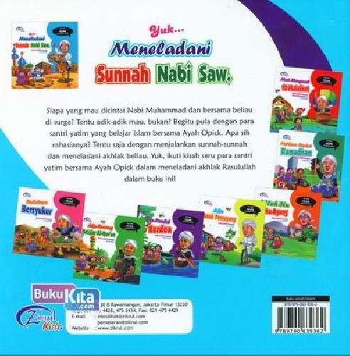 Cover Belakang Buku Yuk ... Meneladani Sunnah Nabi Saw